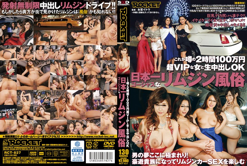 RCT-827 Japan Gorgeous Limousine Customs