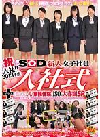 祝入社!!2013年度 SOD新人女子社員 入社式+はじめてのAV業務体験に180分大赤面SP SDMT-913画像