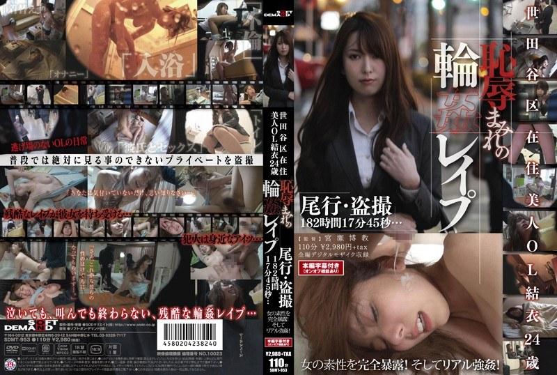 SDMT-953 世田谷区在住 美人OL結衣24歳 恥辱まみれの輪姦レイプ