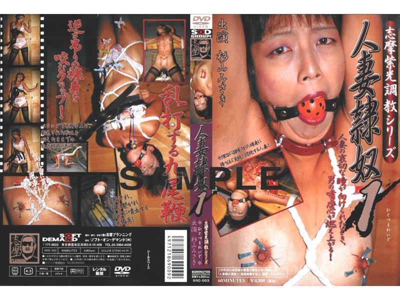 志摩紫光調教シリーズ 人妻隷奴1 パッケージ