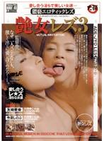 「艶女レズ3 愛し合う淫らで美しい女達… [友崎亜希×寺澤しのぶ]」のパッケージ画像