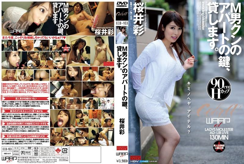 ECB-103 M男クンのアパートの鍵、貸します。 桜井彩 パンティと生写真付き