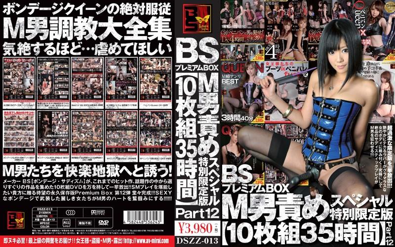 [DSZZ-013] BSプレミアムBOX M男責めスペシャル特別限定版 【10枚組35時間】 Part XII DSZZ