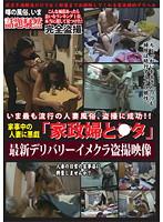 「家事中の人妻に悪戯 「家政婦と●タ」最新デリバリーイメクラ盗撮映像」のパッケージ画像