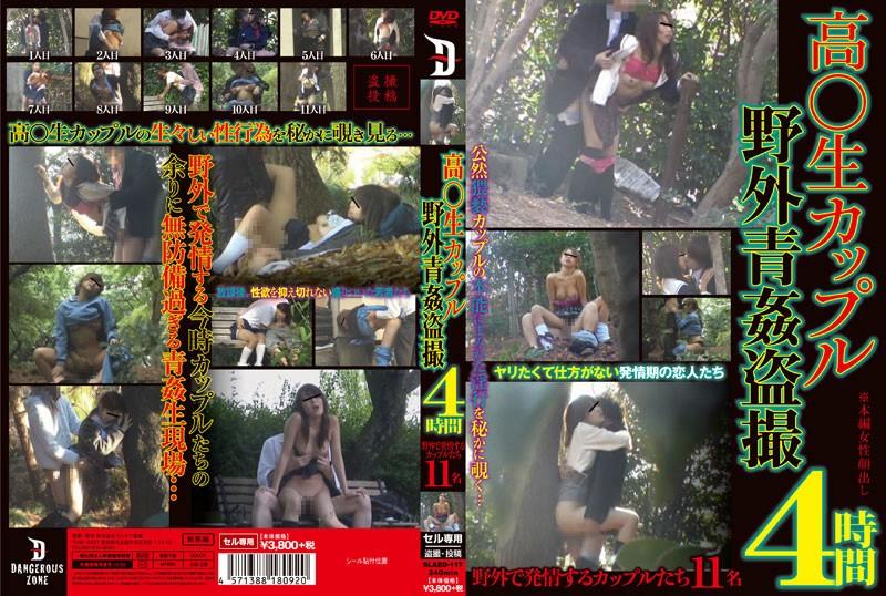 [SLAED-117] 高○生カップル野外青姦盗撮 4時間 ラハイナ東海