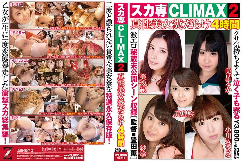 [ZS-012] スカ専CLIMAX 2 真性美女糞だらけ4時間 小川みちる 映天