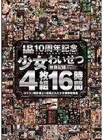 「I.B.WORKS10周年記念 少女わいせつ映像記録 16時間」のパッケージ画像