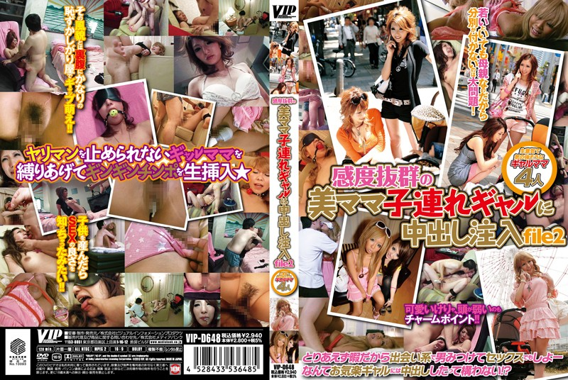 [VIP D648]【予約】感度抜群の美ママ子連れギャルに中出し注入 file2 VIP D648