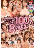 「おかず。が誇る世界の美乳・巨乳100人8時間」のパッケージ画像