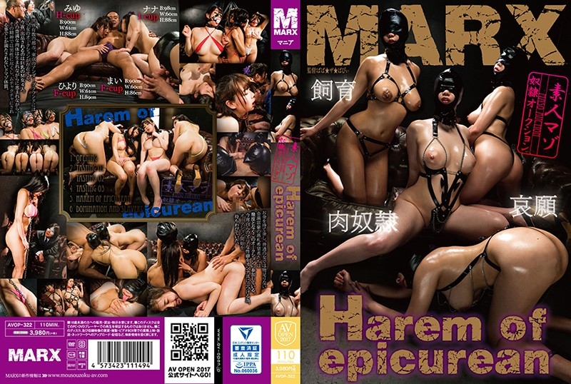 [AVOP-322] Harem Of Epicurean An Amateur Slave Auction