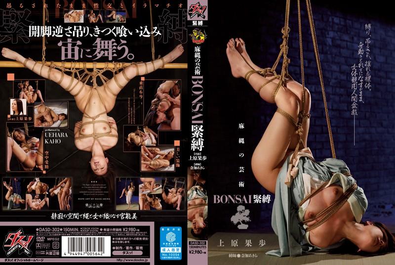 Solowork DASD-302 麻縄の芸術 BONSAI緊縛 上原果歩  Abuse  スレンダー