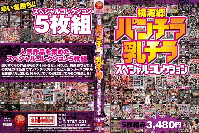 [TTST-001] 桃源郷 パンチラ・乳チラスペシャルコレクション5枚組み3480円 TTST