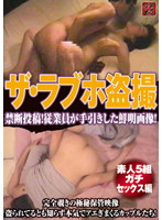 「ザ・ラブホ盗撮 素人5組ガチセックス編」のパッケージ画像