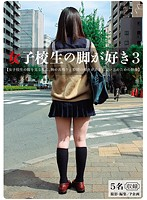 「女子校生の脚が好き 3」のパッケージ画像