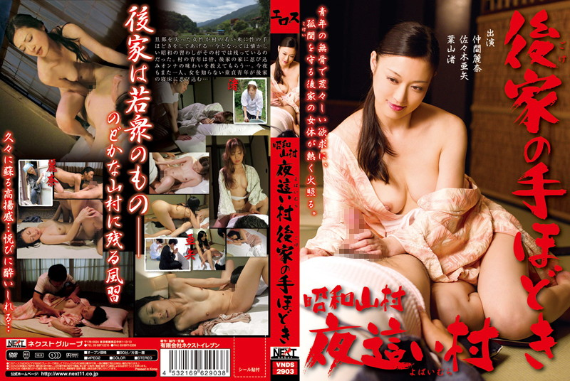 [VNDS-2903] 昭和山村夜這い村 後家の手ほどき VNDS2903