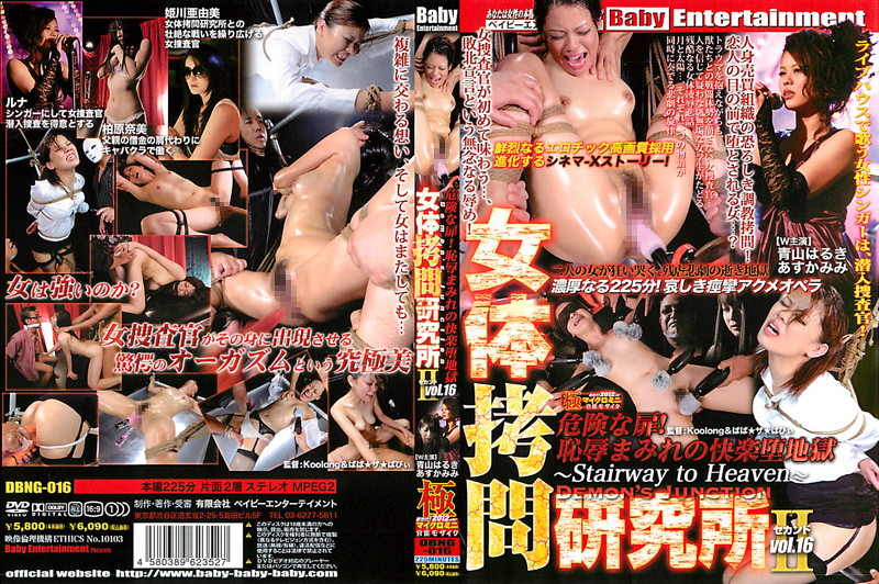 Risky Mosaic DBNG-016 Second Institute Of Torture Booty DEMON'S JUNCTION Vol.16  凌辱  Drama