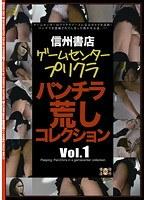 「信州書店 ゲームセンタープリクラパンチラ荒しコレクション Vol.1」のパッケージ画像