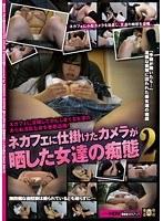 「ネカフェに仕掛けたカメラが晒した女達の痴態 2」のパッケージ画像