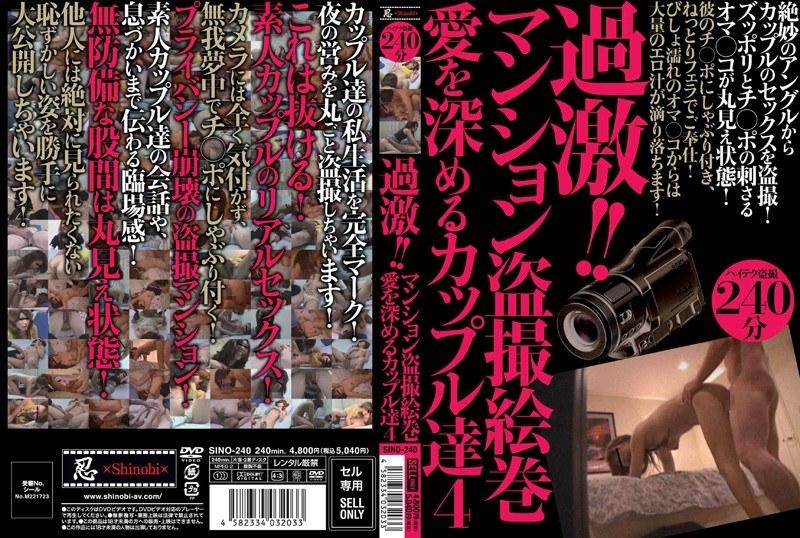 [SINO-240] 過激!!マンション盗撮絵巻 愛を深めるカップル達 4 日本成人片库-第1张