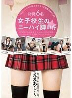 「女子校生のニーハイ脚コキ」のパッケージ画像