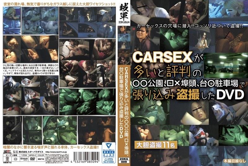 [ZOKG-009] CARSEXが多いと評判の●●公園、□×埠頭、台●駐車場で張り込み盗撮したDVD STAR PARADISE