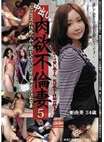 「中出し肉欲不倫妻 5 亜由美」のパッケージ画像