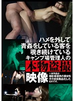 ハメを外して青姦している客を覗き続けているキャンプ場管理人の本物盗撮映像 AOZ-210Z画像