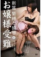 「新篇 緊縛と猿轡 6 お嬢様受難」のパッケージ画像