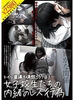 「トイレ盗撮!偶然365日!女子校生たちの内緒のレズ行為」のパッケージ画像
