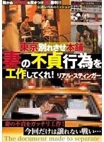東京別れさせ本舗 妻の不貞行為を工作してくれ!リアル・スティンガー