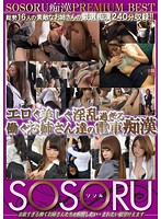 SSR-066 - SOSORU Molester PRMIUM BEST Erotic Beautiful Older Sister Our Train Molester To Work Too Horny
