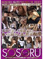 SSR-066 - SOSORU Molester PRMIUM BEST Erotic Beautiful Older Sister Our Train Molester To Work Too Horny