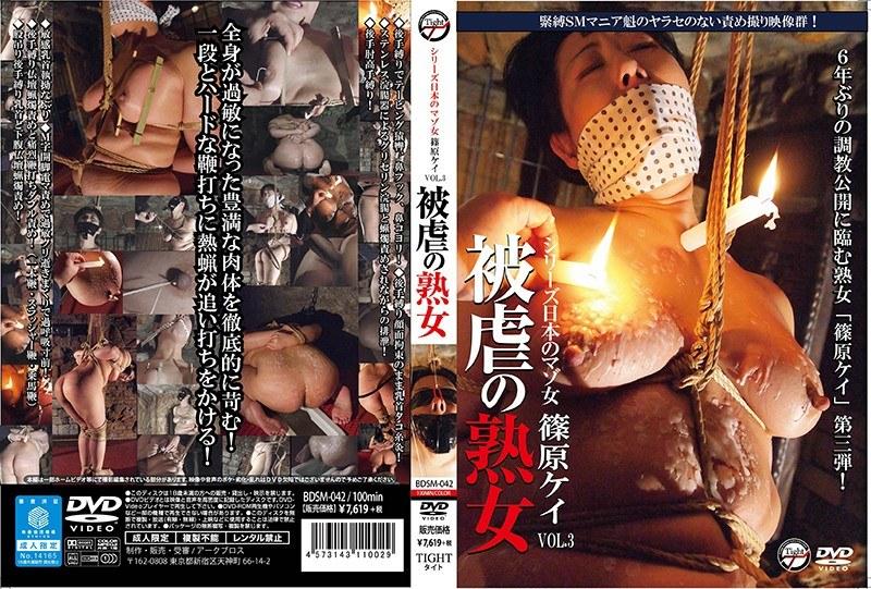 シリーズ日本のマゾ女 被虐の熟女 篠原ケイ vol.3