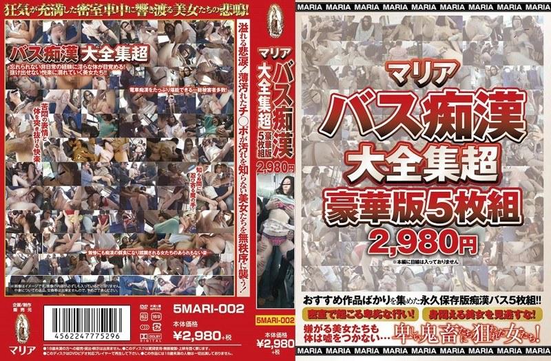 マリアバス痴漢大全集超豪華版5枚組2980円