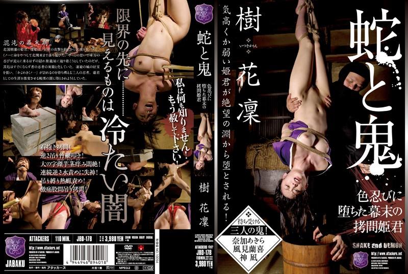 JBD-178 蛇と鬼 色忍びに堕ちた幕末の拷問姫君 樹花凜