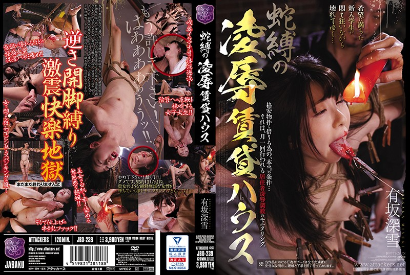 JBD-239 Bondage Torture & Rape Rental House Miyuki Arisaka