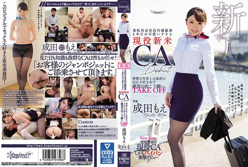 A Certain Airline Company Domestic Work Second Year Too Cute Too Much Active Citizen CA CA Debut What Is Clean Appearance Is True SEX Love Girls To The Other Side Of The Cum Take Off Narita Moe