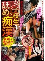 都会の密室 女子校生エレベーター舐め痴漢 乳吸い連れ込み中出し KSAT-003画像
