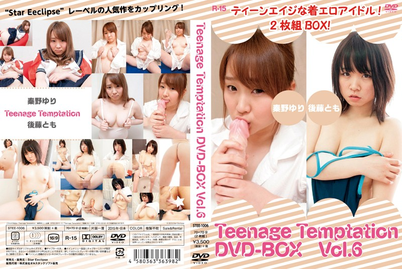 [STEE-1006] Teenage Temptation DVD-BOX Vol.6 ティーンエイジな着エロアイドル!2枚組BOX! STEE オルスタックソフト販売