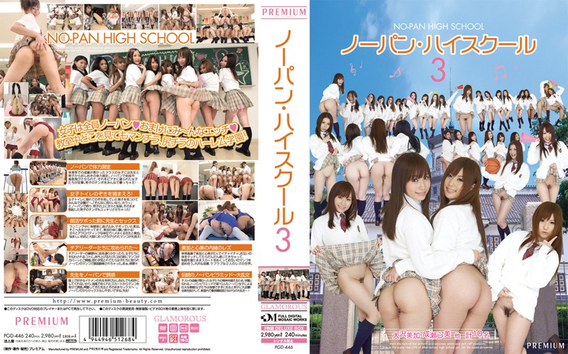 PGD-446 - High School 3 Panties