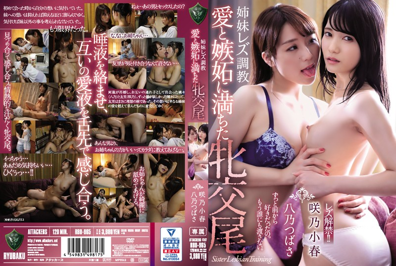RBD-965 Sister Lesbian Training Female Mating Filled With Love And Jealousy Sakino Koharu Yano Tsubasa