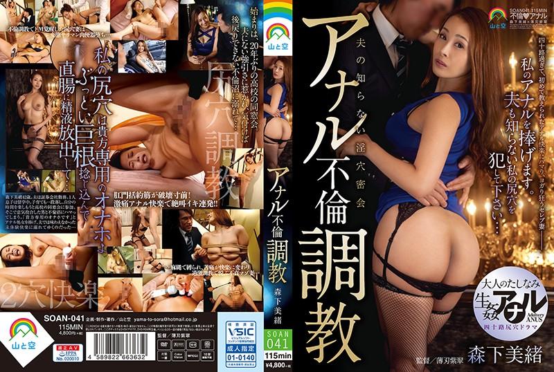 SOAN-041  Anal Adultery Breaking In Training Mio Morishita