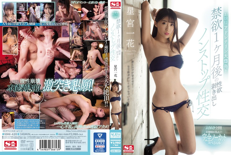 SSNI-439  A Young Lady Has A Massive Adrenaline Rush! Passionate, Non-Stop Sex After 1 Month Of Abstinence. Ichika Hoshimiya