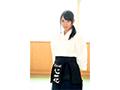 【DMM限定】新人!kawaii*専属 凛とした清純美少女剣士心花ゆら いざ、胴着を脱いでAVデビュー 生写真3枚付き  No.3