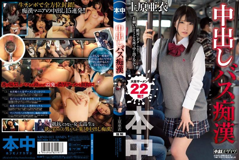 中出しバス痴漢 上原亜衣 特典DVD(ッッッ!!!ま・さ・か・