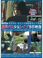 「世田谷区・私立S学園関係者より投稿 通学バス少女レイプ事件映像 バス運転手は生徒が一人になるのを狙い車内で犯行に及んでいたのだ!」のパッケージ画像