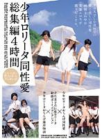 「少年ロ●ータ同性愛総集編4時間」のパッケージ画像