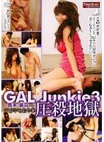 「GAL Junkie 3 西木美羽 チビキモおやじ圧殺地獄」のパッケージ画像