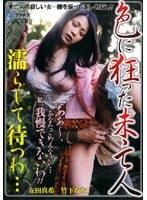 「色に狂った未亡人 濡らして待つわ… 友田真希 竹下なな」のパッケージ画像