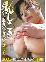 「乳しごき 〜巨乳熟女のパイズリ〜」のパッケージ画像